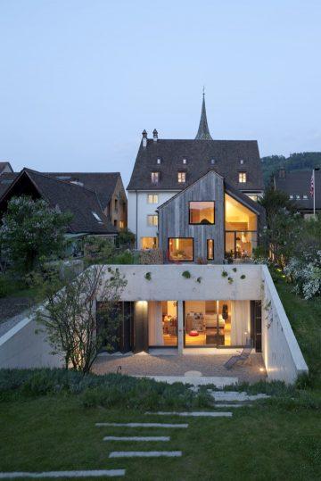 Umbau und Neubau Kirchplatz Muttenz, Schweiz, Huesler Architekten Muttenz, Schweiz