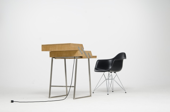 schreibtisch zum klappen b rozubeh r. Black Bedroom Furniture Sets. Home Design Ideas