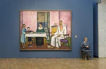Konchalovsky's portrait with family, State Tretyakov Gallery, 20