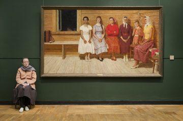 Kugach's Before the Dance, State Tretyakov Gallery, 2009