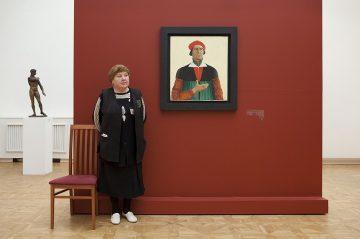 Malevich's Self Portrait, Russian State Museum, 2009