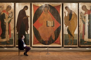 Rublev and Daniil's The Deesis Tier, State Tretyakov Gallery 200