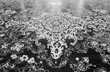 Silicone carpets