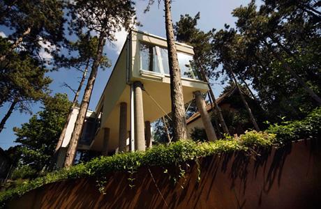 Summer House on Pillars