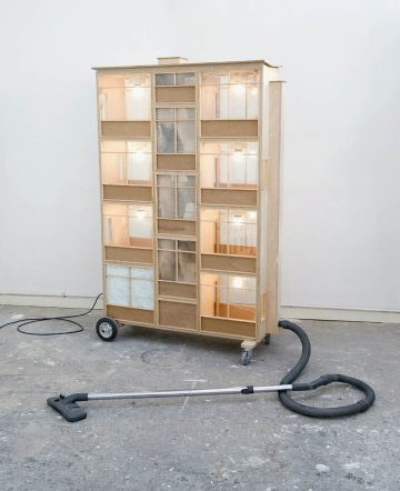 kunstwerk frank halmans op atelier januari 2010