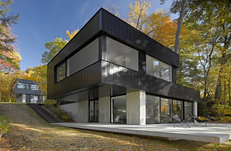 Cantilever Lake House