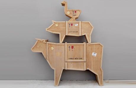 Animals as Furniture