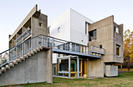 Miller House by Jose Oubrerie