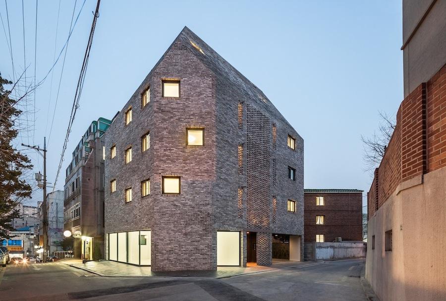 multiplex housing in seoul ignant de 4 plex house plans multiplexes quadplex plans