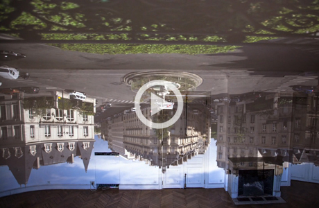 Entire apartment turned into camera obscura