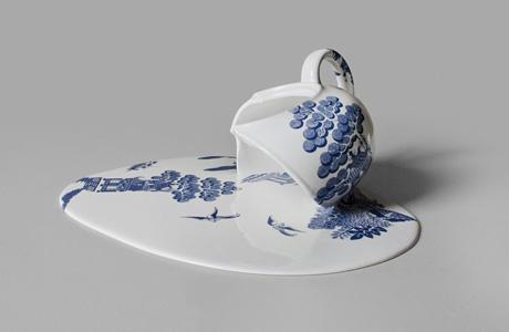 Melting porcelain by Marin