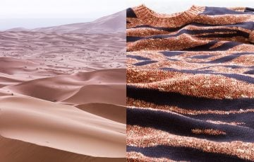 Aerial: Morocco, MerzougaJumper: KenzoBackground shirt: APC
