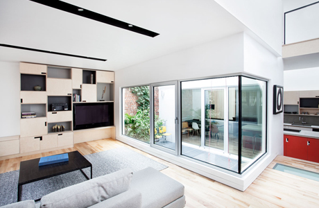 Stacked House