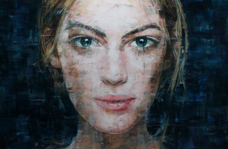 Vibrant paintings of Harding Meyer