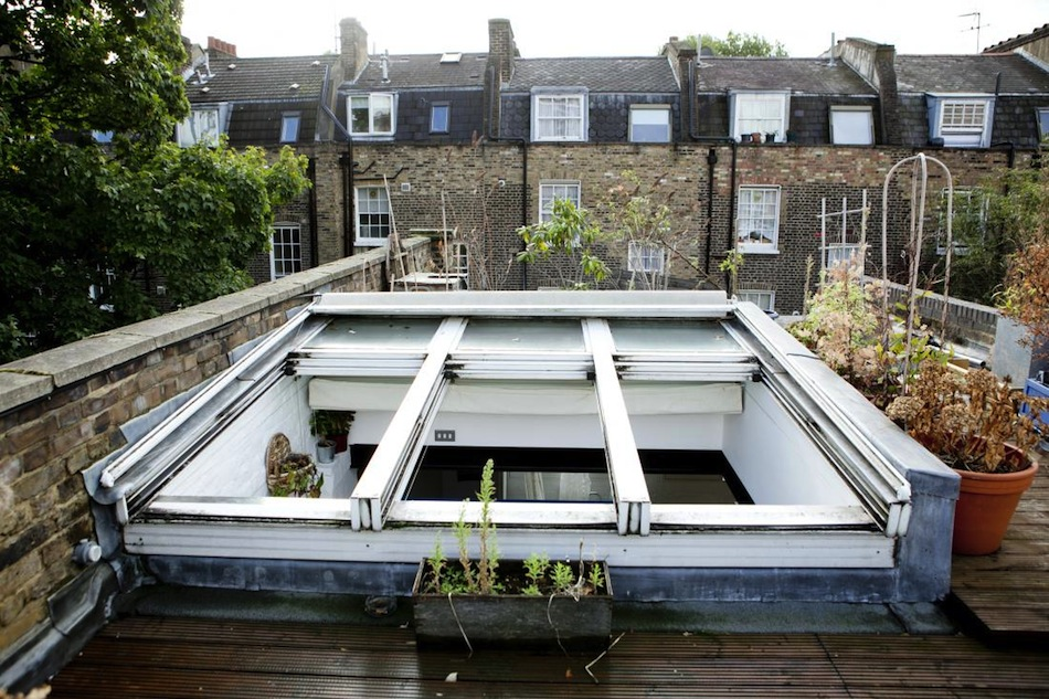 attic london flat ignant com