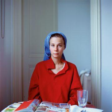 Melinda after hairwashing, 2005, Paris