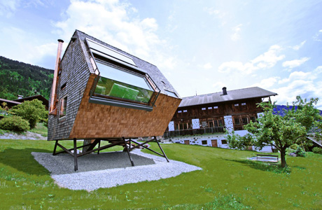 House Ufogel in Austria