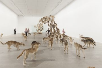 'Cai Guo-Qiang: Falling Back to Earth'Members Preview