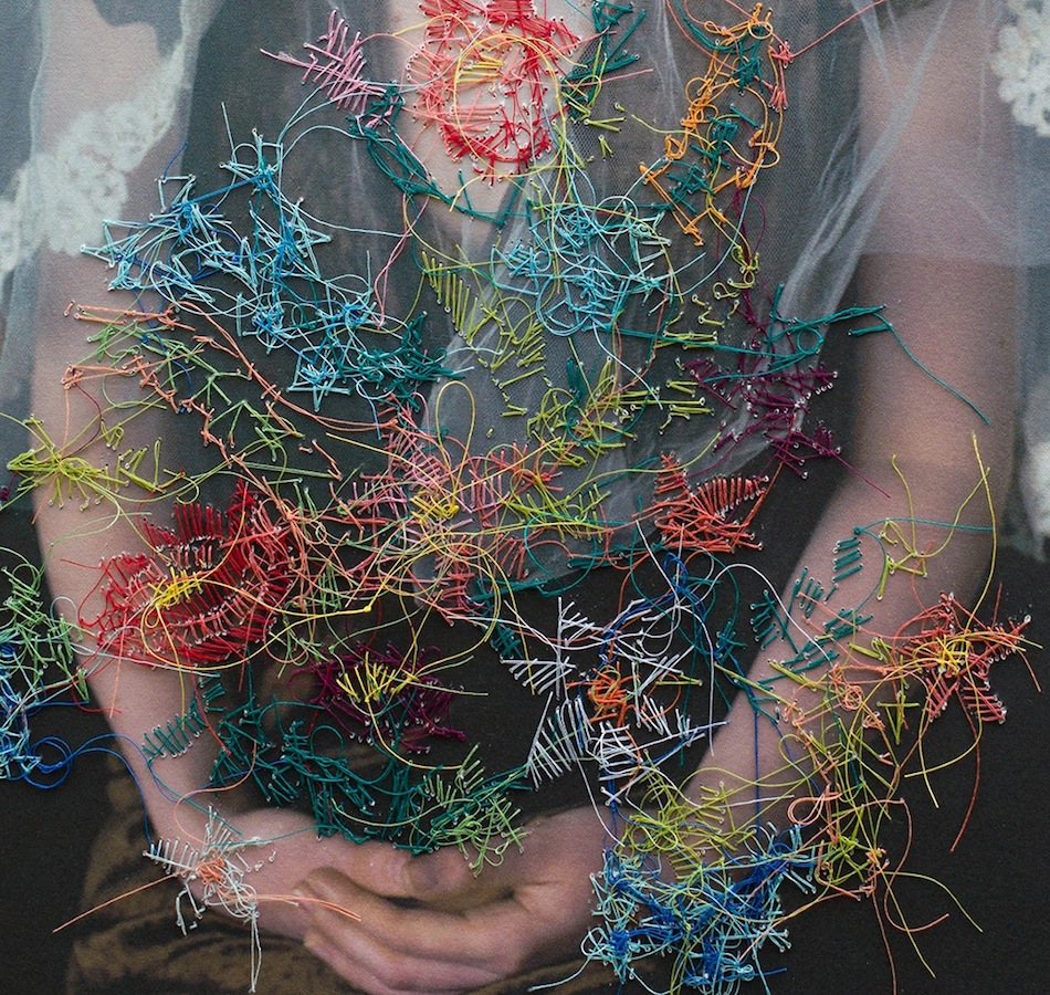 ART HandStitched Embroidered Portraits By Melissa
