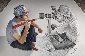 Pencil Vs Camera - 73