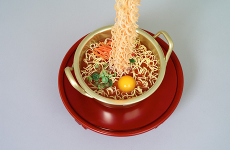Seung Yul Oh's Resin Soup Sculptures