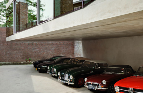 The House of a Vintage Car Collector