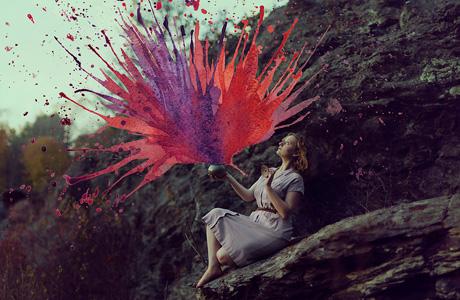 Mixed Media Paintings by Aliza Razell