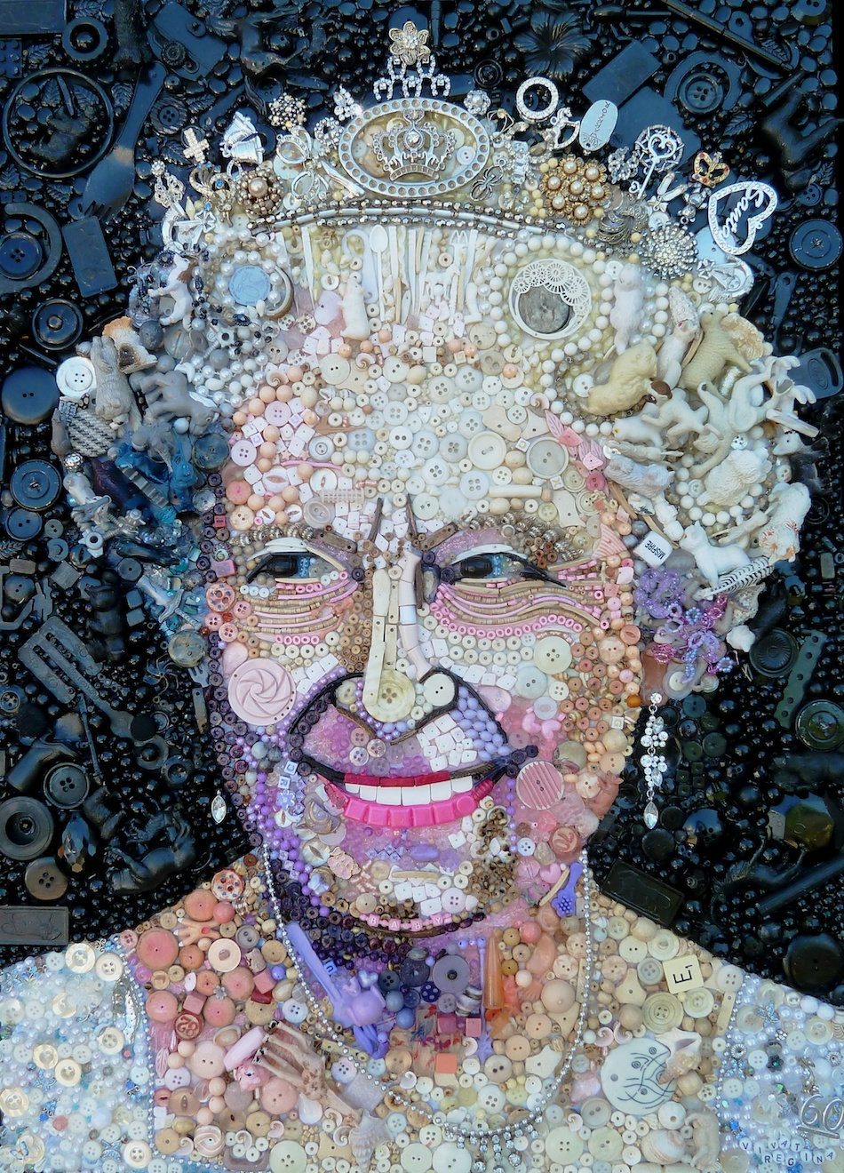 recycled art by jane perkins ignant de
