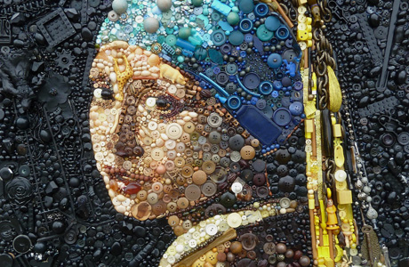 Recycled Art by Jane Perkins
