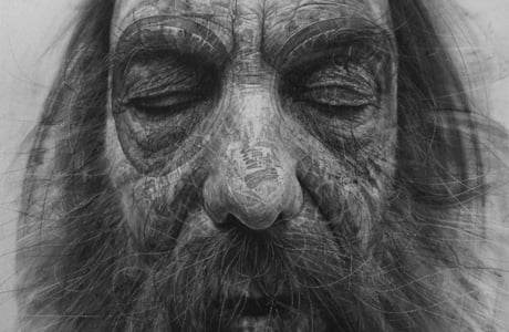 Hyper-realistic drawings by Douglas McDougall