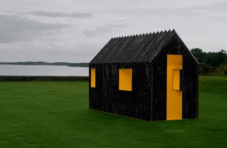 Chameleon Cabin is entirely made of paper