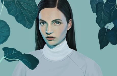 Digital drawings by Kemi Mai