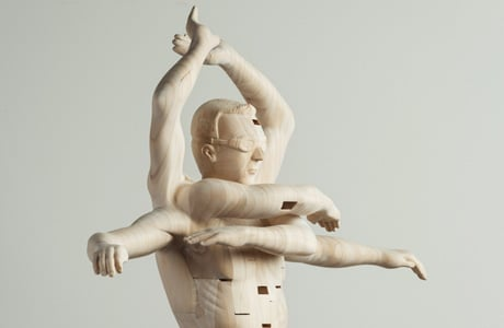 Wooden sculptures by Paul Kaptein