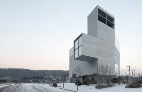 Concrete Church by NAMELESS Architecture