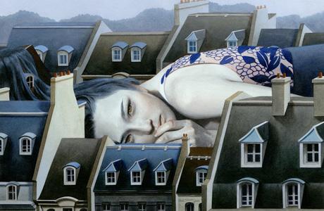 Malerei von Tran Nguyen