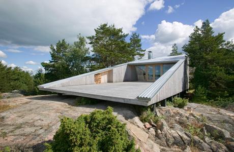 Villa Mecklin in Finnland
