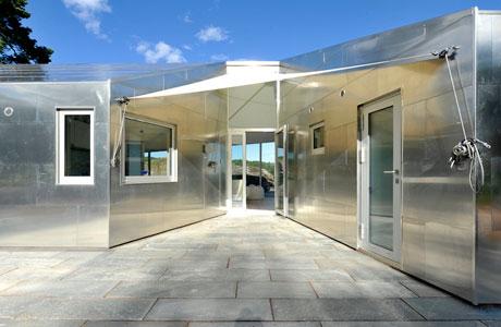 Aluminium Cabin by JVA