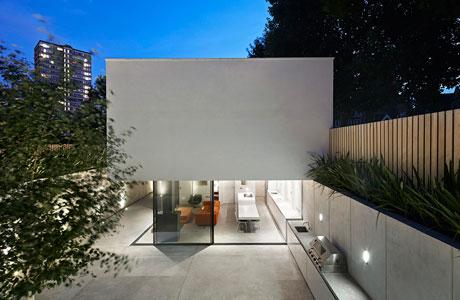 Sunken House By De Matos Ryan Nestles In A Garden Ignant