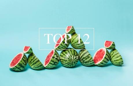 Top 12 Food Art