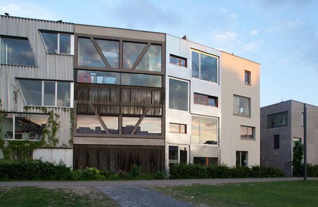 Townhouses by XTH-berlin