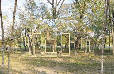Invisible Barn by STPMJ