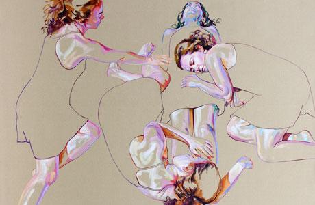 Self-portraits by Cristina Troufa