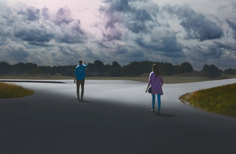 Painted Photographs by Kristoffer Axen