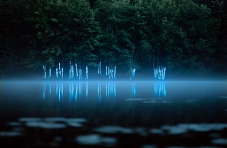 Landscape Light Sculptures by Barry Underwood