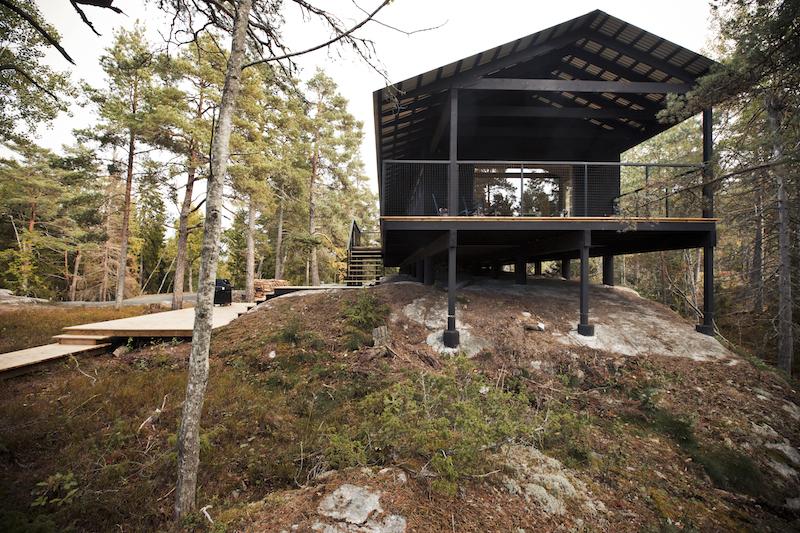 A Woodsy Cabin On A Swedish Island