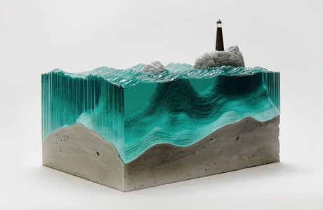 Ben Young's Glass Sculptures