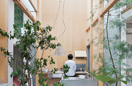 Haus Komazawa Park von miCo