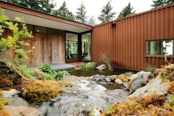 Orcas Island home designed by Gary Gladwish, Architect