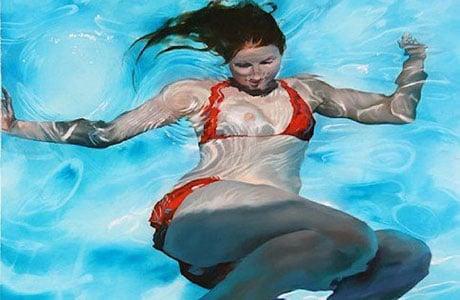 Underwater Paintings By Sarah Harvey