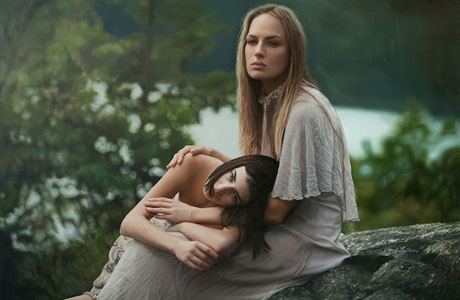 Photorealistic Paintings of Women by Yigal Ozeri